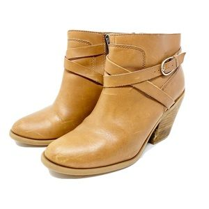 Lucky Brand light brown ankle boots size 7.5